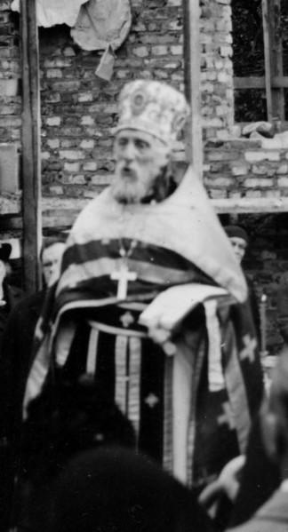 Прот. Григорий Светловский. 1938 год. Закладка Никольского храма в Хельсинки