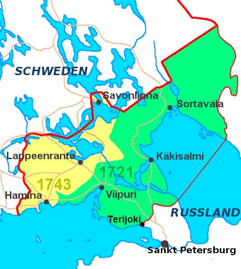 карта 1743